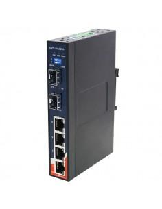 Switch , 4x 10/1000 RJ-45...