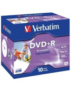 VERBATIM DVD+R 4,7GB 10szt....