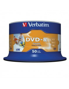 VERBATIM DVD-R 4,7GB cake...