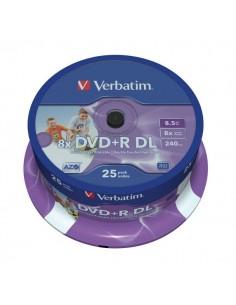 VERBATIM DVD+R DL 8,5GB...