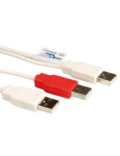 Roline Kabel USB 2.0 Y 2x...