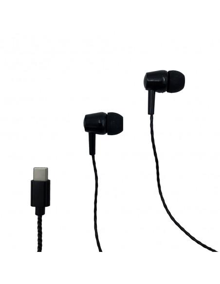 MAGICSOUND DS-2 - Słuchawki douszne z mikrofonem. Rozmowy telefoniczne i muzyka. Białe