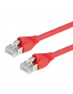 Kabel DÄTWYLER PatchCord S/UTP Kat.5e czerwony 2m LSOH AMP