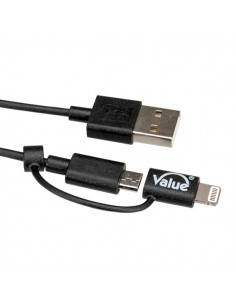 VALUE 8pin+MicroB to USB...