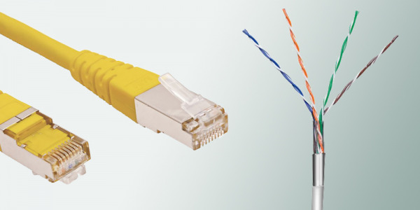 Kabel FTP - skrętka ekranowana